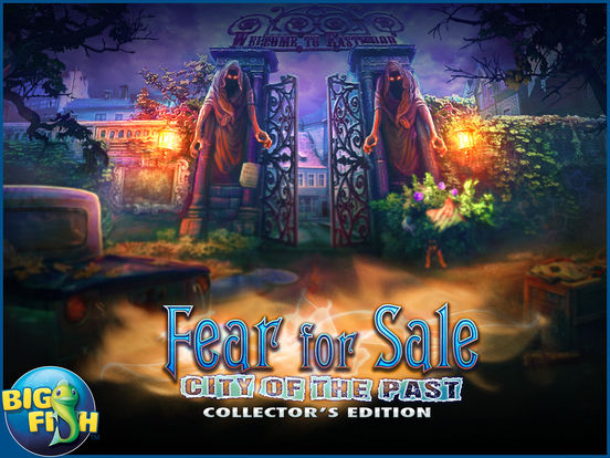 Fear for Sale: City of the Past HD - A Hidden Object Mystery screenshot 5