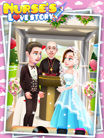 Nurse's Love Story - Treat Patient, Uber Date, Proposal, Wedding, Life Game FREE screenshot 10