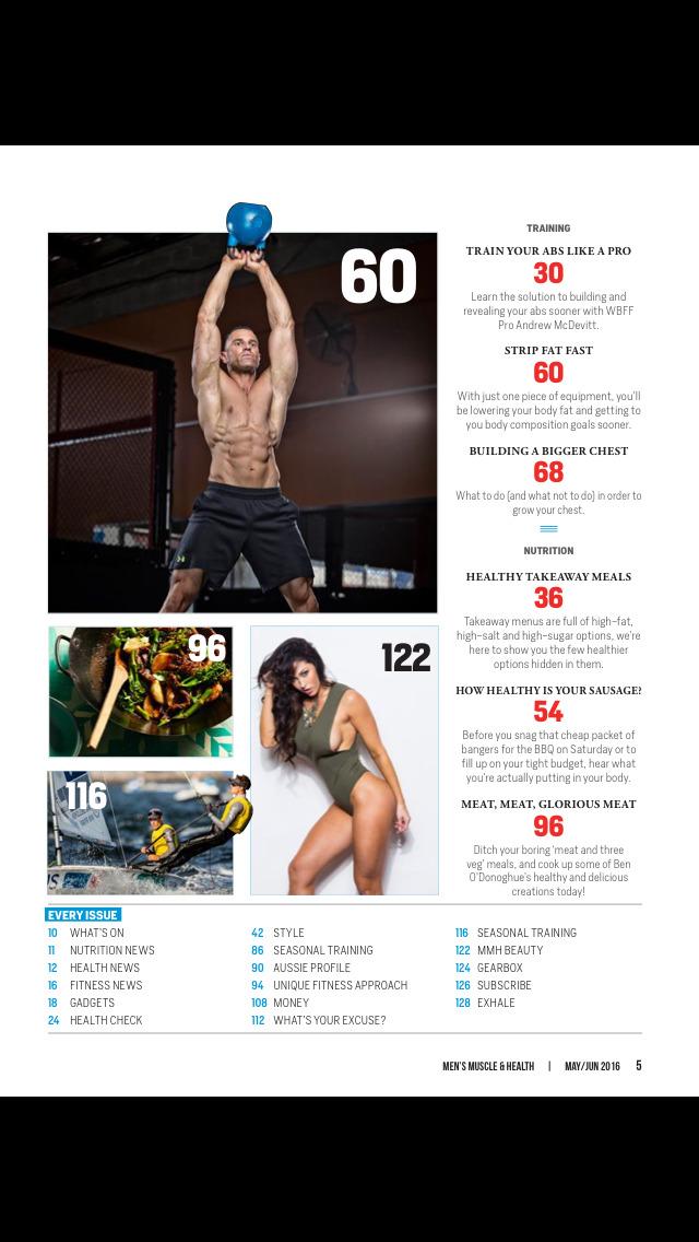 Men's Muscle & Health screenshot 3