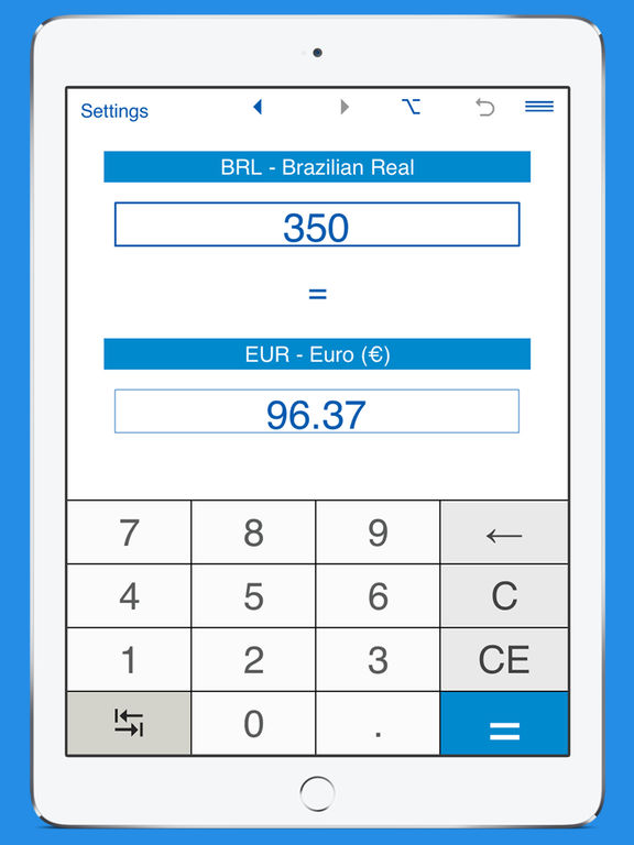 Brl To Eur Currency Converter