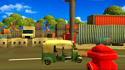 City Tuk Tuk Rickshaw : free simulation game screenshot 5