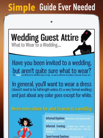 Wedding Guest Attire Demystified screenshot 7