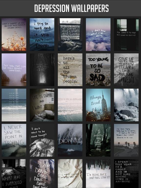 Depression Wallpapers screenshot 2