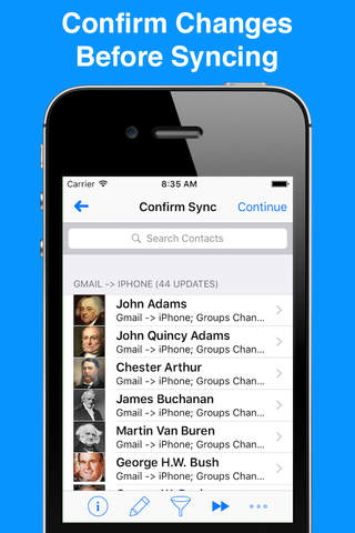 Synctastic for Google - Sync Gmail Contacts - náhled