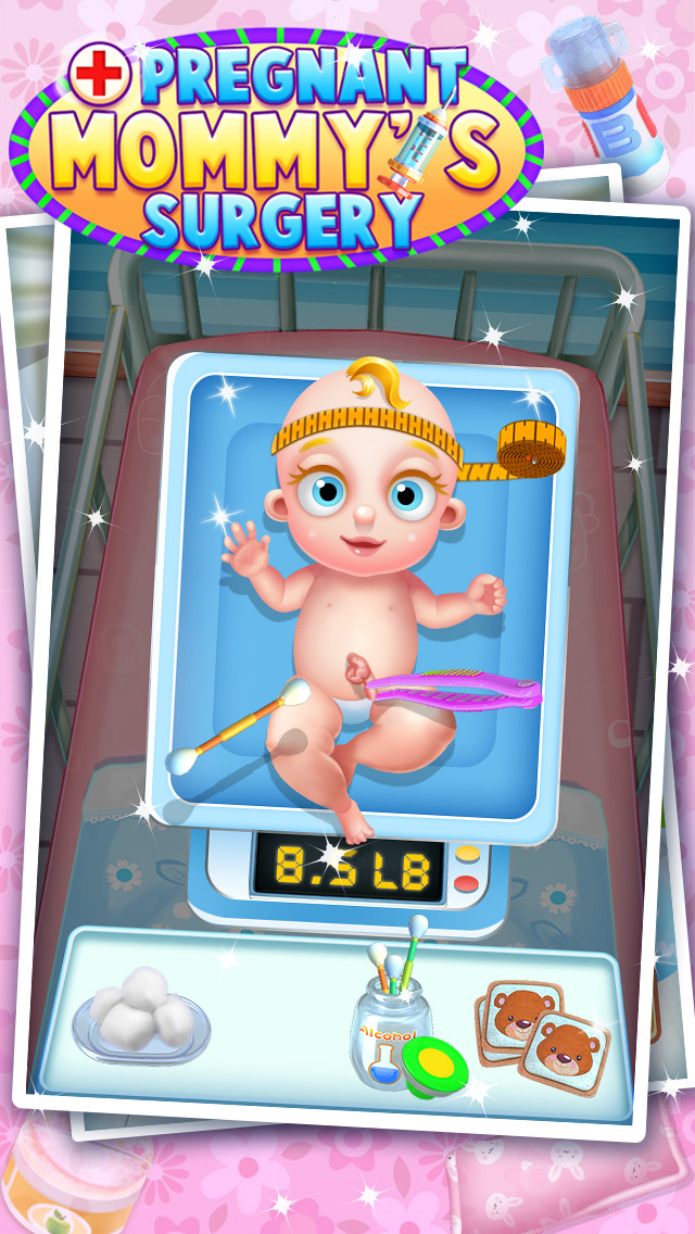 Pregnant Mommy's Surgery - Caesarean Simulator Doctor Game FOR FREE screenshot 4