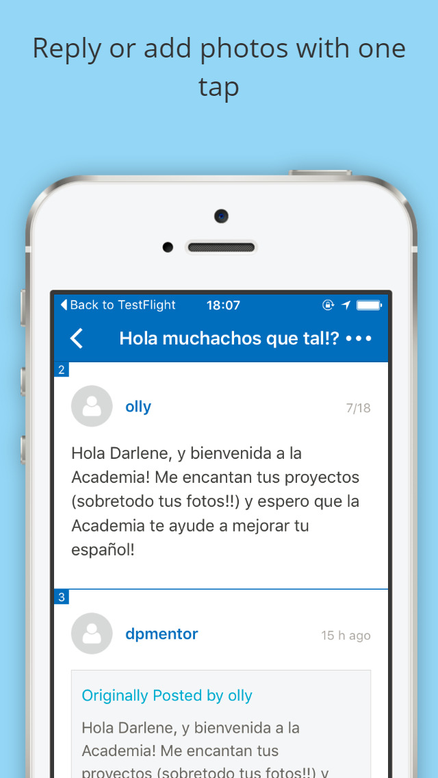 Fluent Spanish Academy Forums screenshot 1