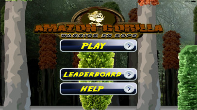 Amazon Gorilla Warrior In Rope Pro - Amazing Game screenshot 1