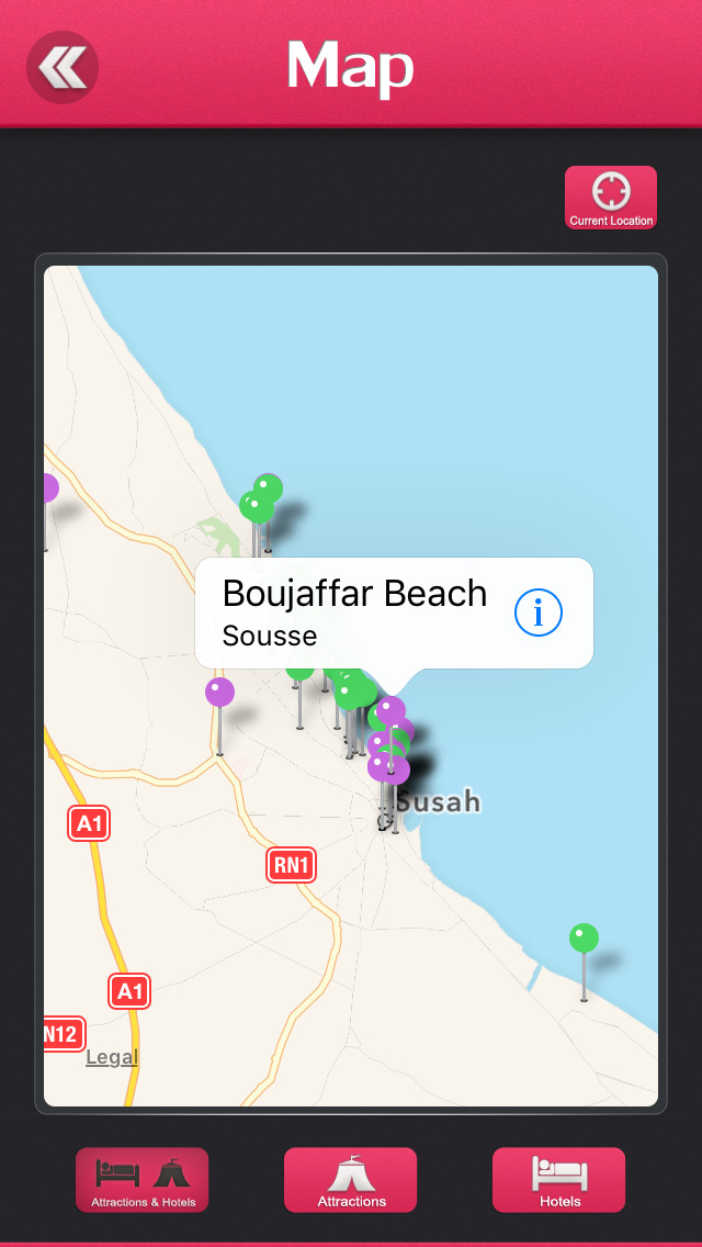location on iphone sousse city travel guide by aleatti sirisha 4156