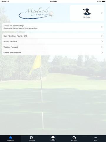 Maylands Golf Club screenshot 7