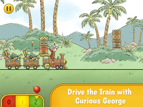 Curious George Train Adventure screenshot 6