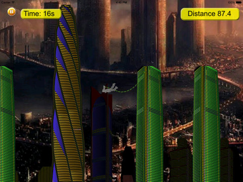 Metal Man Rope - Jump and Fly to Save the City Streets screenshot 7