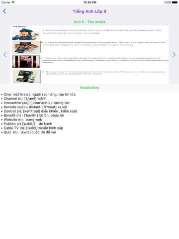 Tieng Anh Lop 9 - English 9 screenshot 7