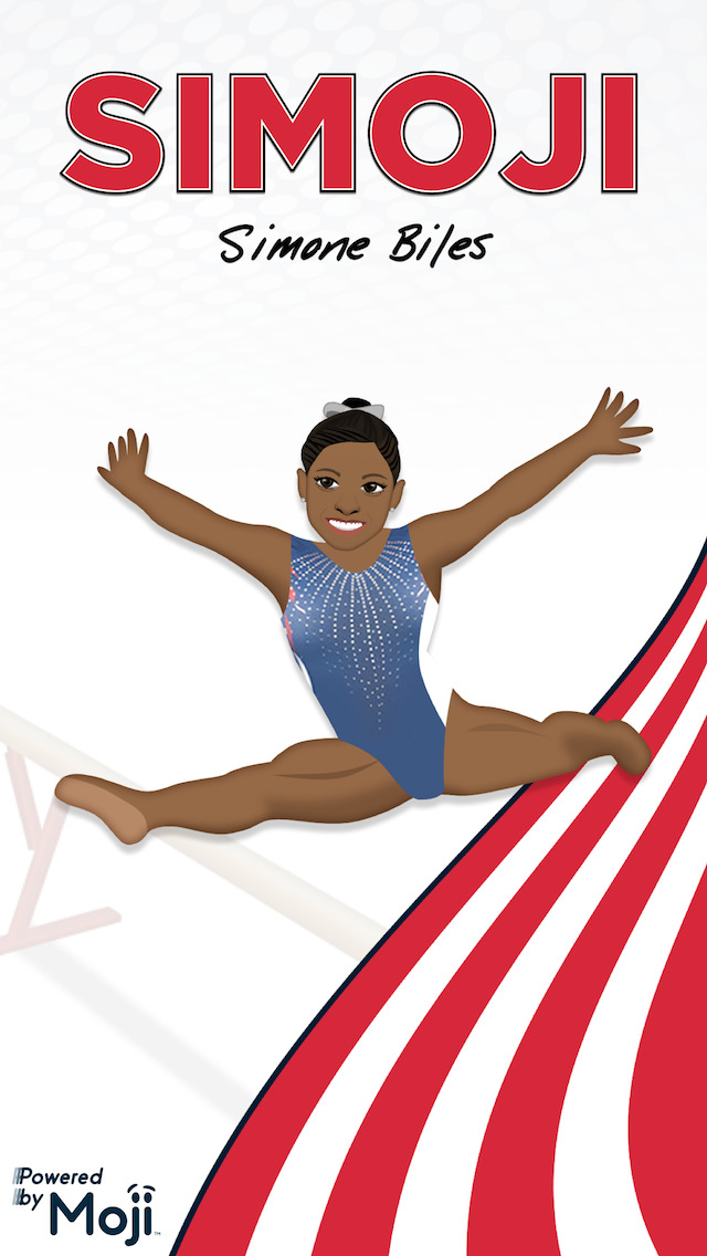 Simoji by Simone Biles screenshot 1