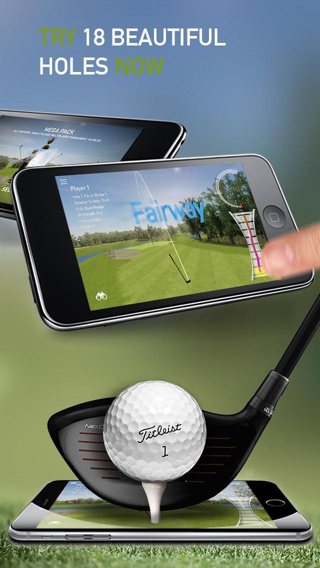 Golf Game Masters - Multiplayer 18 Holes Tour screenshot 3