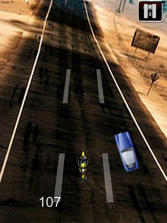 A Fury Motocross - Traffic Game Bike Racing screenshot 7
