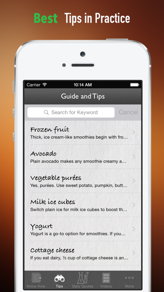 How to Make a Smoothie:Juice, Healthy Eating and Recipes screenshot 4