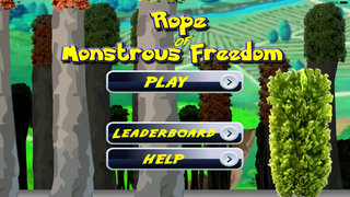 A Rope Of Monstrous Freedom - Amazing Fly PoketBall Go Game screenshot 1