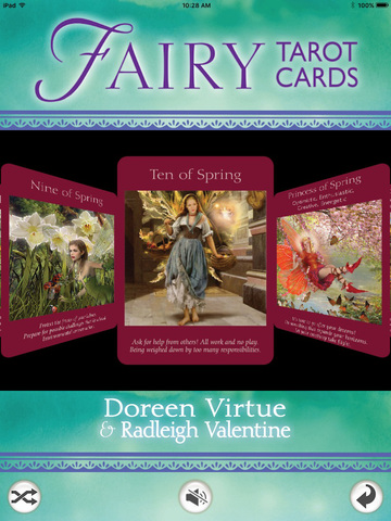 Fairy Tarot Cards screenshot 6