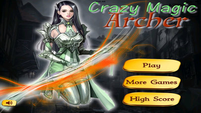 Crazy Magic Archer Pro - Lives A Magical Adventure screenshot 1