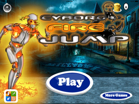 Cyborg Fire Jump Pro - Steel Robot Strike screenshot 6