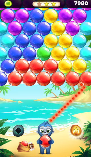 Jungle Party Bubble Shooter screenshot 4