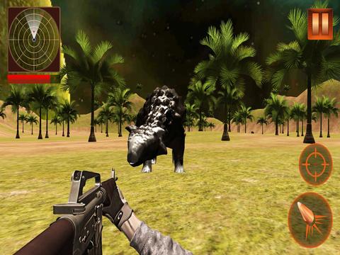 Wild Dino Hunting Simulation 2016 screenshot 5