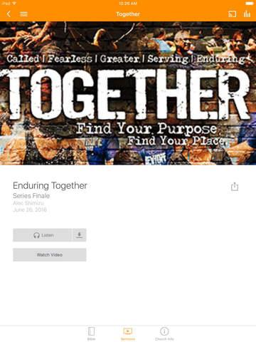New Hope Leeward Church App screenshot 5