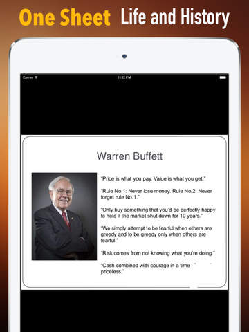 Warren Buffett Biography and Quotes: Life with Documentary and Speech Video screenshot 7