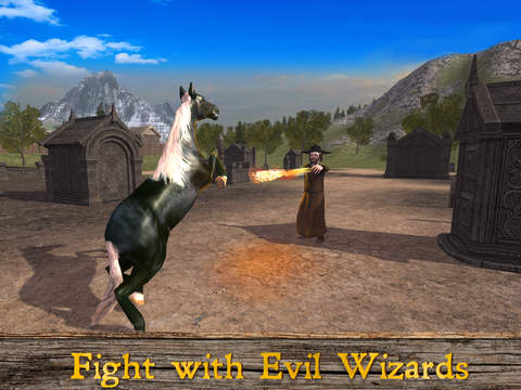 Magical Horse: Animal Simulator 2017 screenshot 7