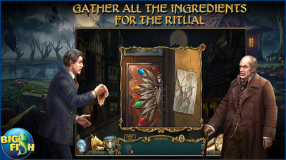 Haunted Legends: The Secret of Life - A Mystery Hidden Object Game screenshot 3