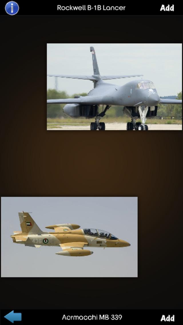 Military Aircraft Info screenshot 3