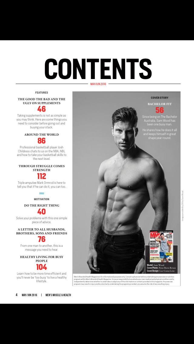 Men's Muscle & Health screenshot 2
