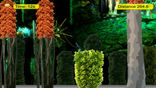 A Monster Shadow Rope Pro - Ninja Castle Escape Jump screenshot 2
