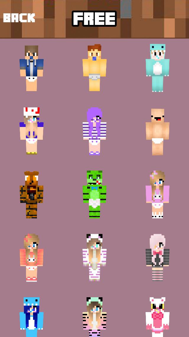 скины аниматроников для майнкрафт по никам #8