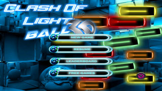 Clash Of Light Ball 3D - Classic Amazing Brick Game screenshot 1