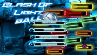 Clash Of Light Ball 3D - Classic Amazing Brick Game screenshot 1