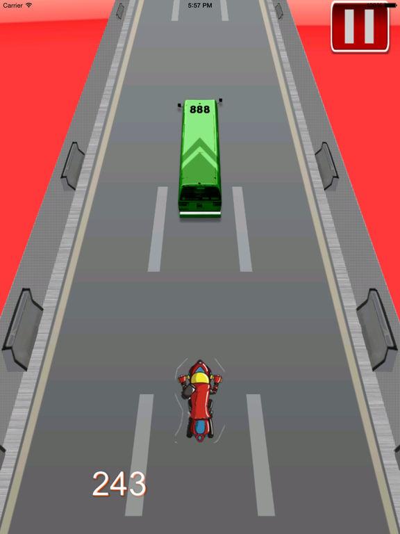 Big Fast Race Child PRO - Crazy Game Road Bike screenshot 8