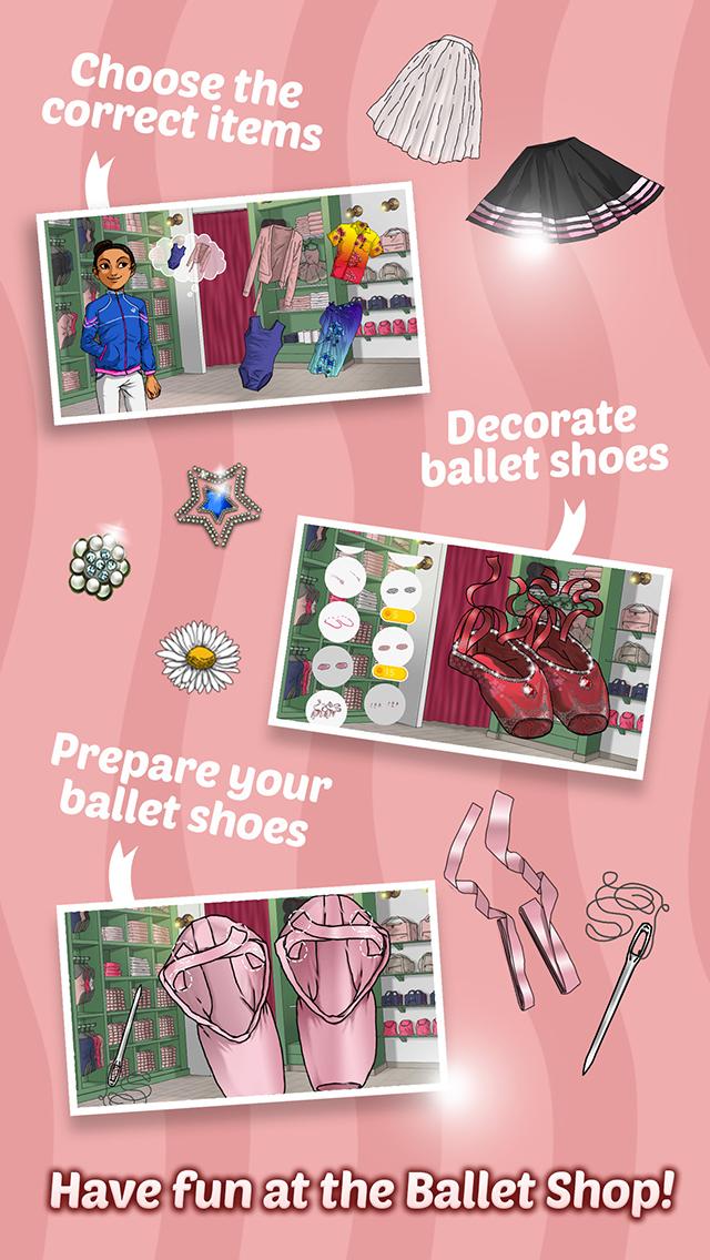 Ballet Day - Ballerina Makeup, Decoration & Fashion screenshot 1