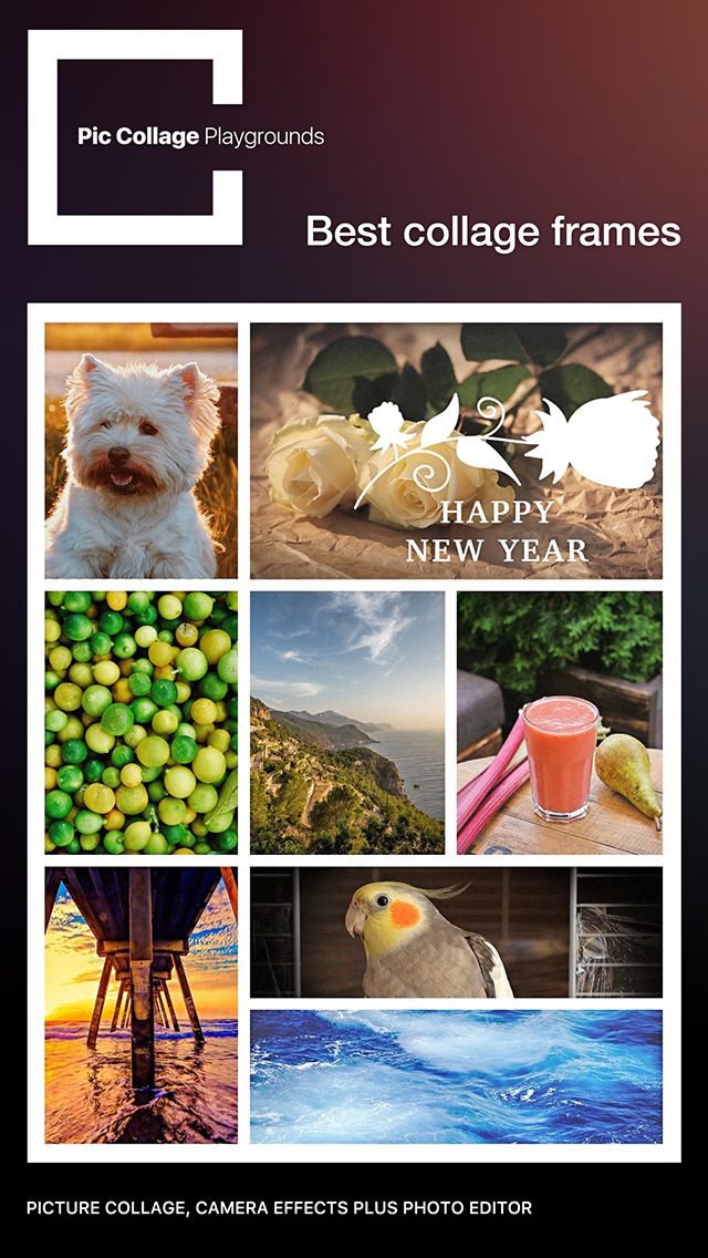 Pic Collage Playgrounds Pro - photo editor and pic collage Maker screenshot 4