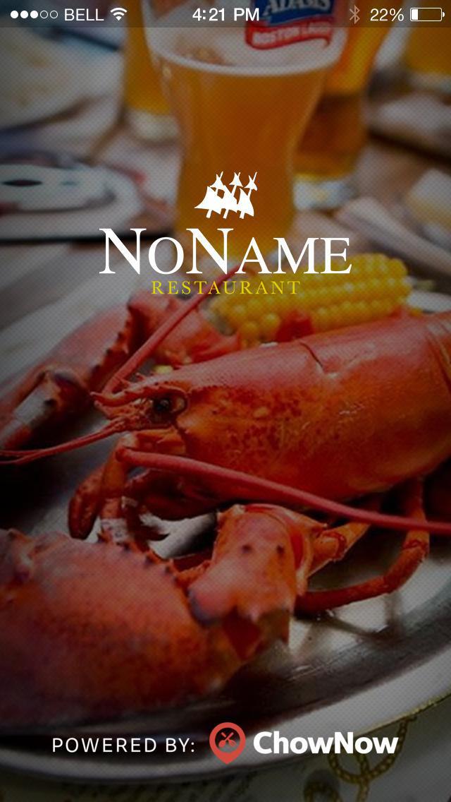 No Name Restaurant screenshot 1