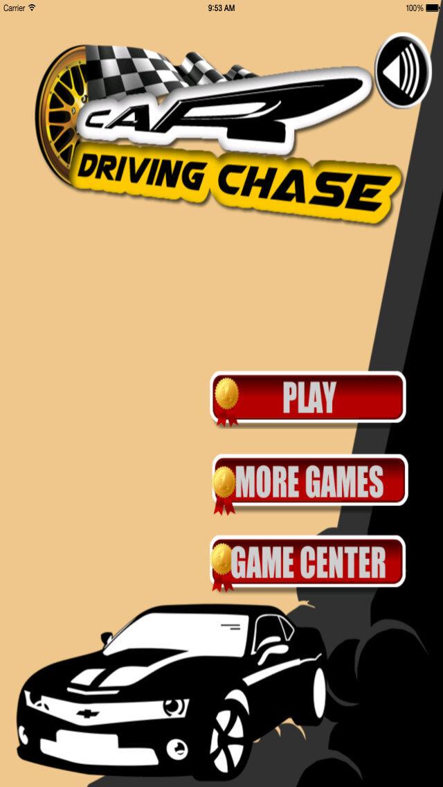 Car Driving Chase - Racing Rush Simulator Game screenshot 1