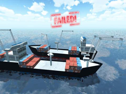 Big Ship Parking Simulator - Ocean Container Shipping Cargo Boat Game FREE screenshot 10