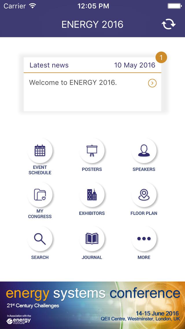 ENERGY2016 screenshot 2
