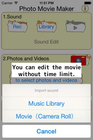 Photo Movie Maker - Slideshow Video Maker to Clip  - náhled