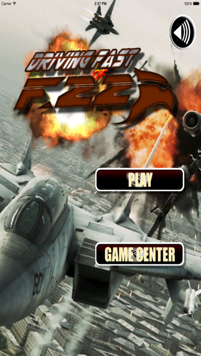 A Driving Fast Of F 22 Pro - Amazing Air War Game screenshot 1