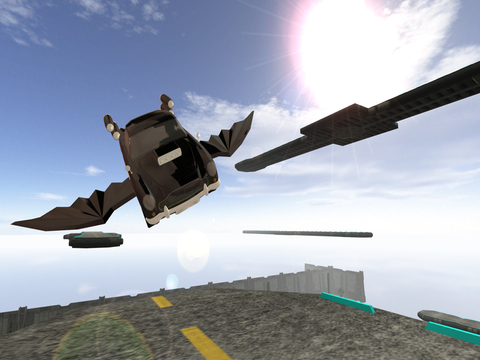 3D Flying Car Parking Simulator: eXtreme Racing, Driving and Flight Game Free screenshot 10