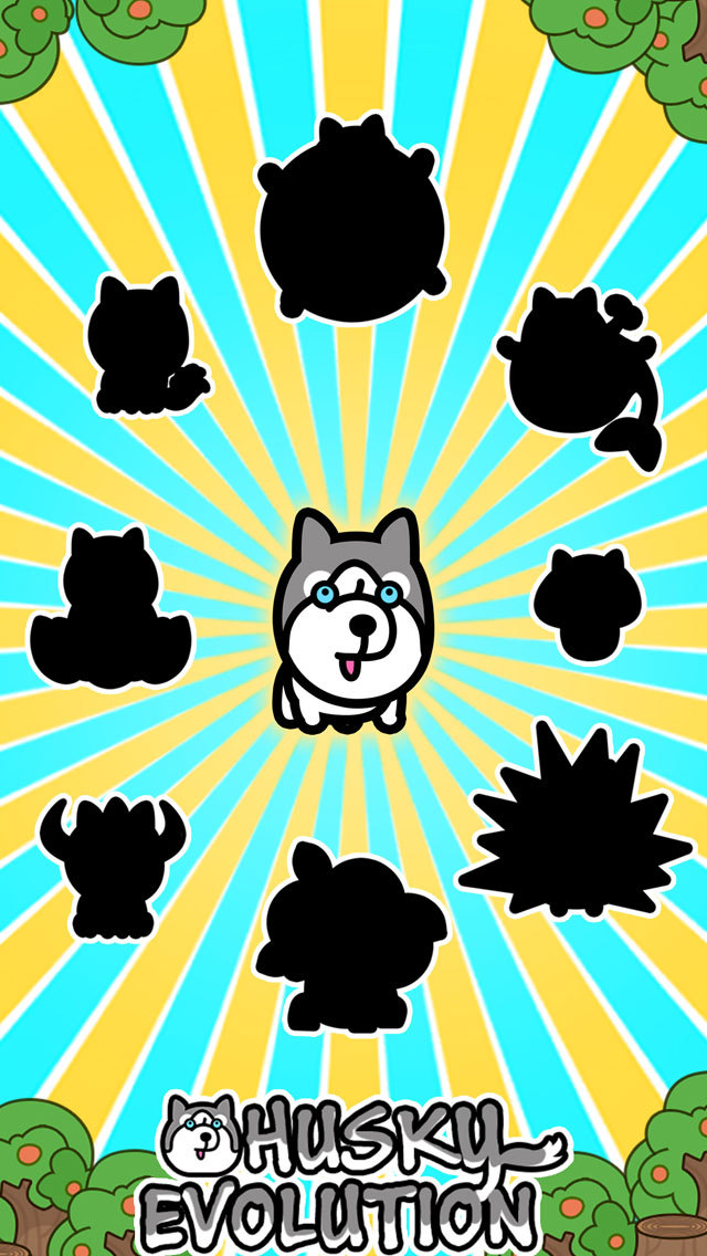 Husky Evolution - Tap Coins of the Crazy Mutant Simulator Idle Game
