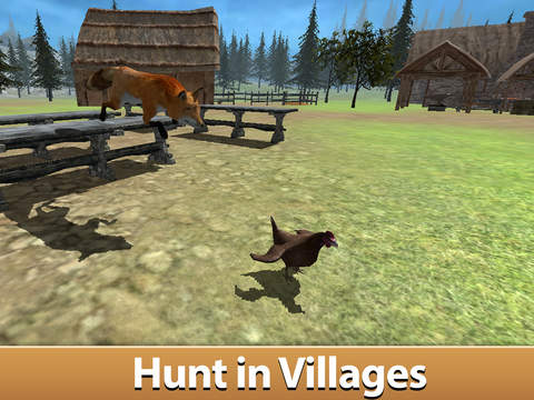 Wild Fox Survival Simulator 3D screenshot 7