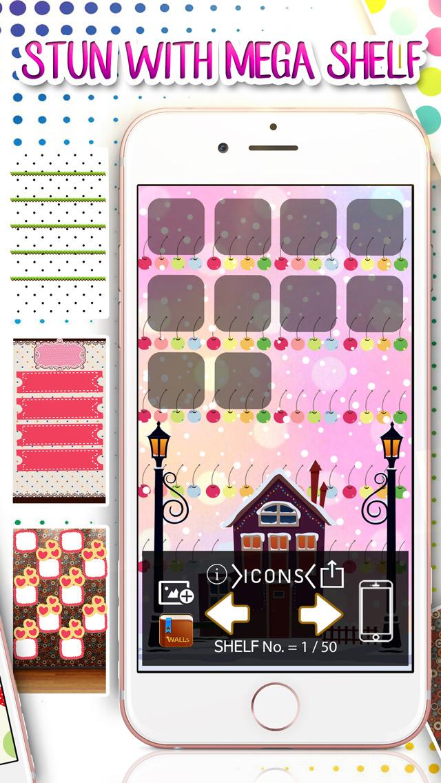 Shelf Maker Polka Dot Home Screen Designer Icons