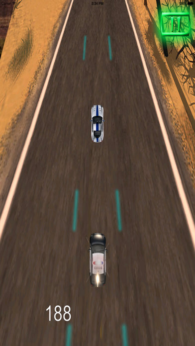 A Driving Fast Police Pro - Racing Hovercar Game screenshot 3